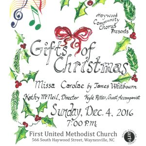 Gifts of Christmas Flyer