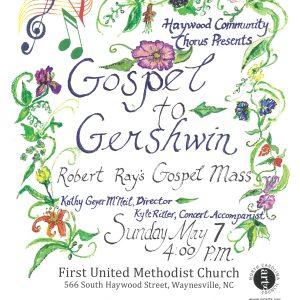 Gospel to Gershwin Flyer