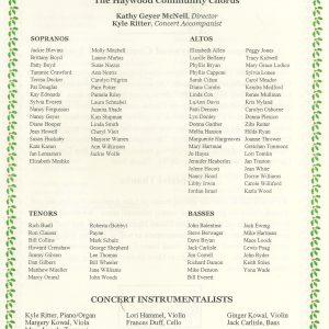 Vivaldi's Gloria Singers